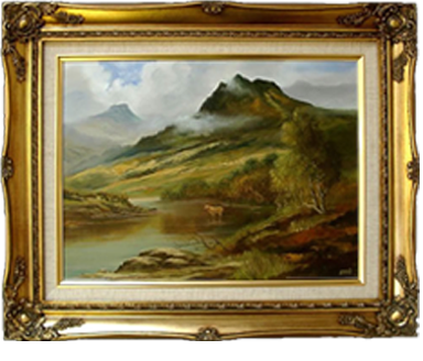 Classic Art Pictures - Swept Picture Frames